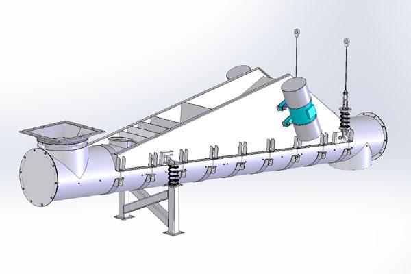 Electromechanical Vibrating Tube Feeder  Jvi Vibratory -1376