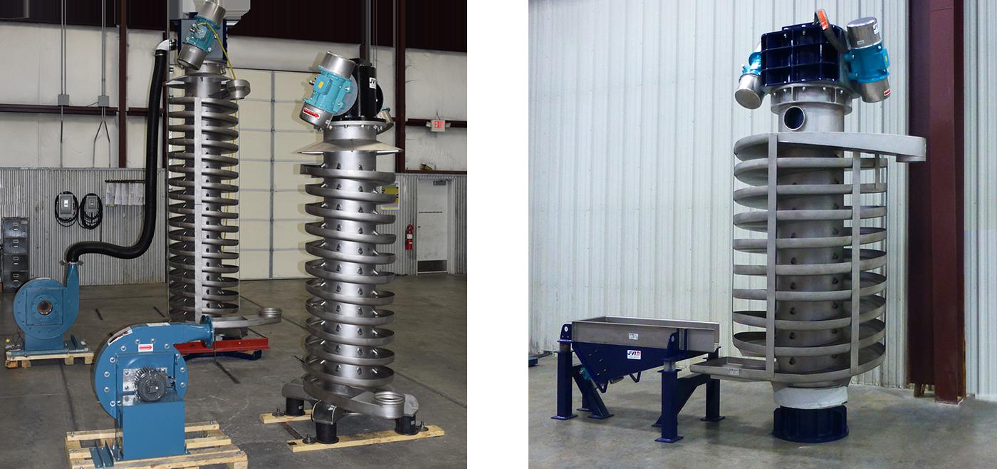 Vibrating Spiral Elevator  Direct  Indirect Thermal -2406
