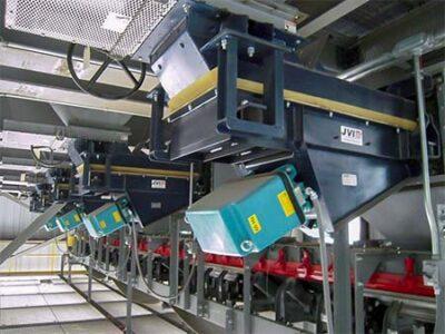 Electromagnetic Pan Feeders Steel Mill