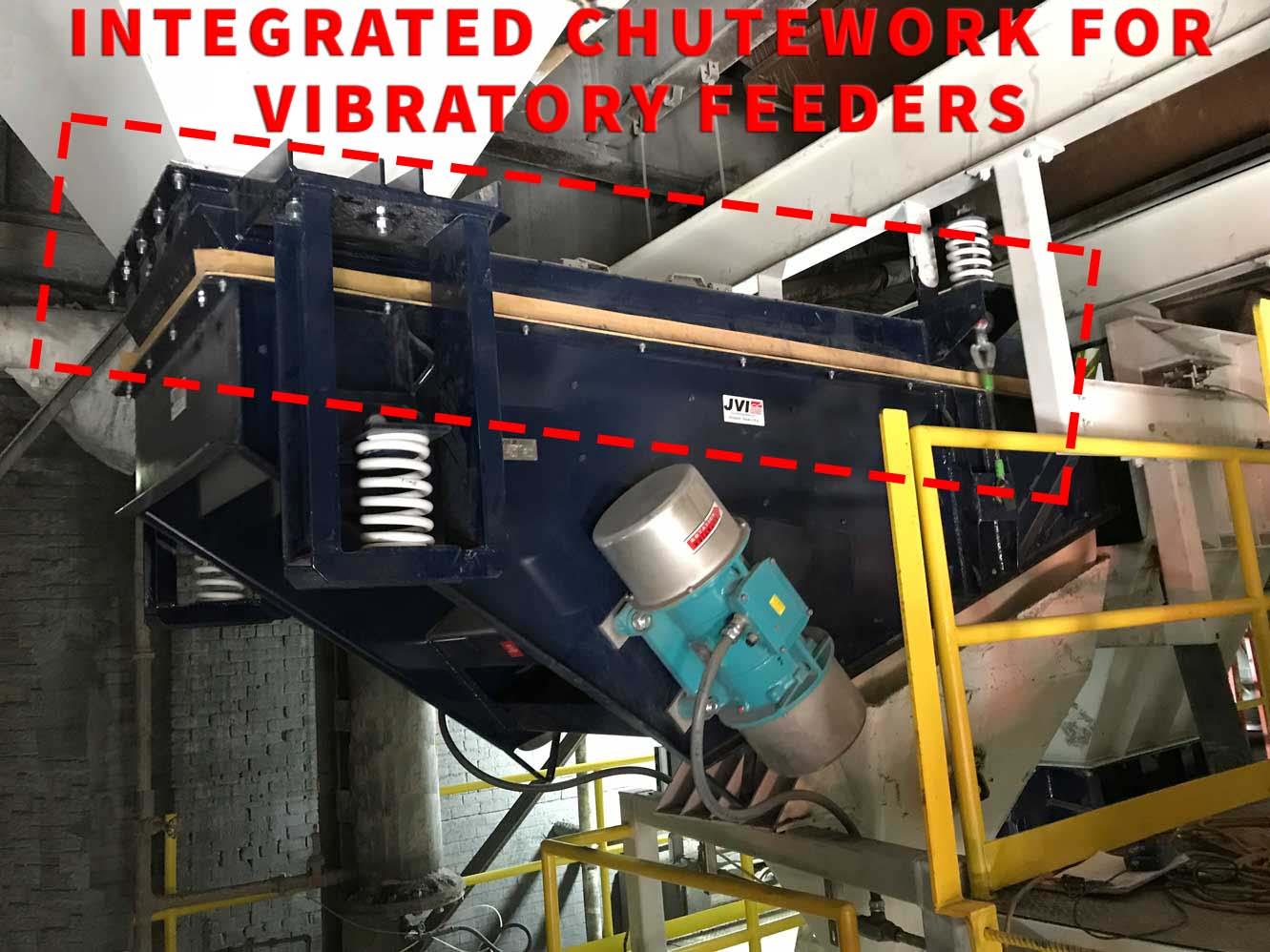Static Chutework Electromechanical Feeder