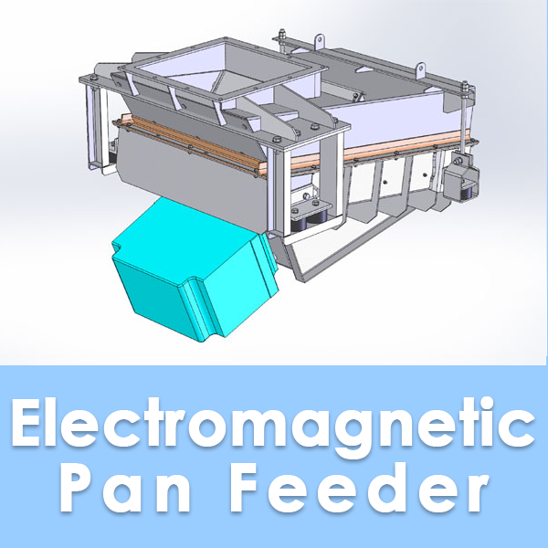 Electromagnetic Pan Feeder Button